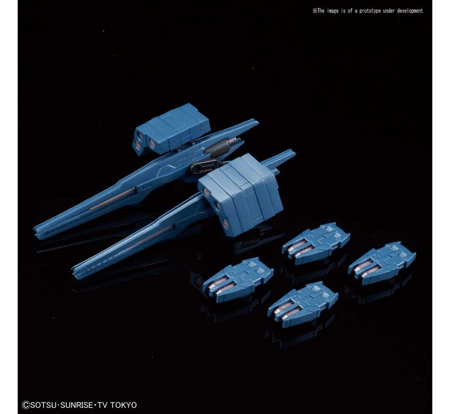 "5055359 #21 Gundam 00 Sky HWS (Trans-Am Infinity Ver.) ""Build Divers"", Bandai HGBD 1/144"