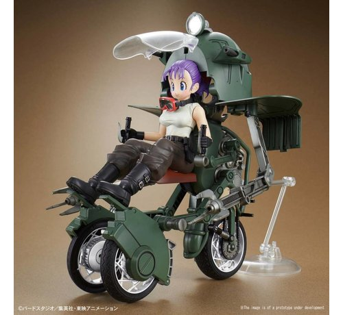 "BANDAI MODEL KITS 5055335 Bulma's Variable No.19 Bike ""Dragon Ball Z"", Bandai Figure-rise Mechanics"