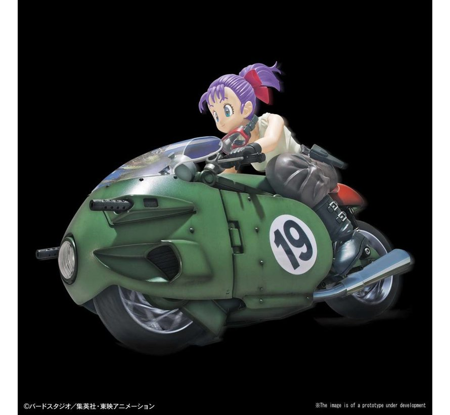 "5055335 Bulma's Variable No.19 Bike ""Dragon Ball Z"", Bandai Figure-rise Mechanics"