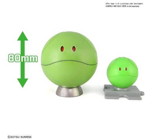 "BANDAI MODEL KITS 5055583 Haro ""Gundam"", Bandai Figure-rise Mechanics"