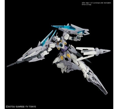 """BANDAI MODEL KITS 5055585 #24 Gundam AgeII Magnum (SV Ver.) """"Build Divers"""", Bandai HGBD 1/144"""
