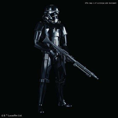 """BANDAI MODEL KITS 5055866 Shadow Stormtrooper """"Star Wars"""", Bandai Star Wars Character Line 1/6"""