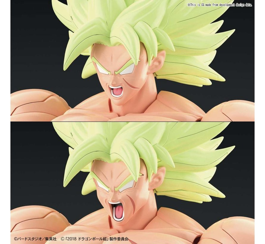 "5055712 Super Saiyan Broly Full Power ""Dragon Ball Super"", Bandai Figure-Rise Standard"