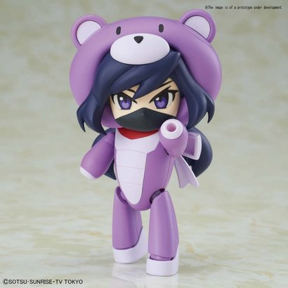 "BANDAI MODEL KITS 5055714 #21 Petit'gguy Chara'gguy Ayame ""Gundam Build Divers"", Bandai HGPG"