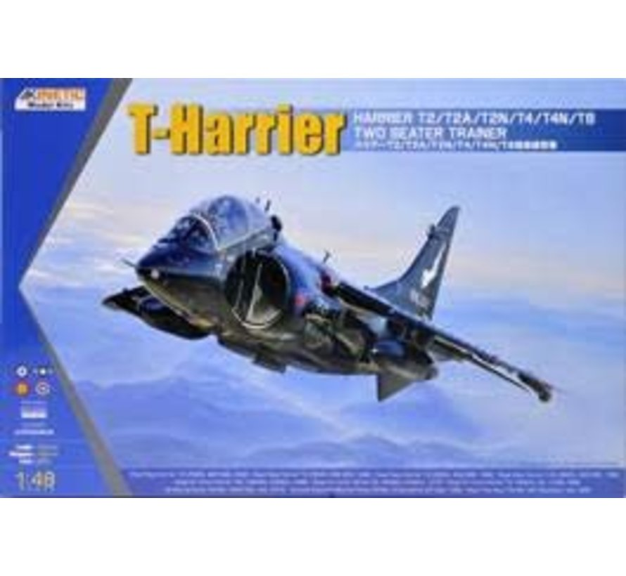 K48040 1/48 T-Harrier T2/T2A/T2N/T4/T4N/T8 Two Seater Trainer