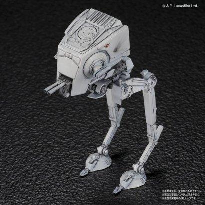 """BANDAI MODEL KITS 215632 AT-ST & Snowspeeder """"Star Wars"""", Bandai Star Wars 1/144"""