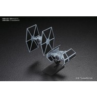 BANDAI MODEL KITS Tie Advanced x1 and Tie Fighter 1/144