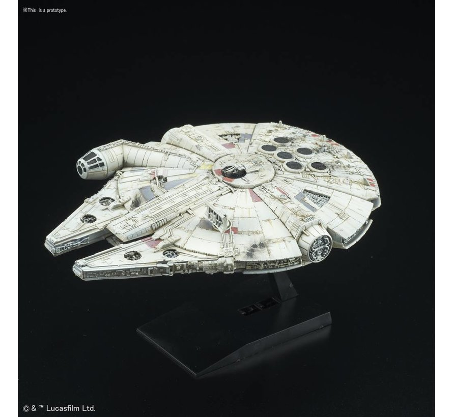 "210501 Millennium Falcon ""Star Wars"", Bandai Star Wars 1/350"