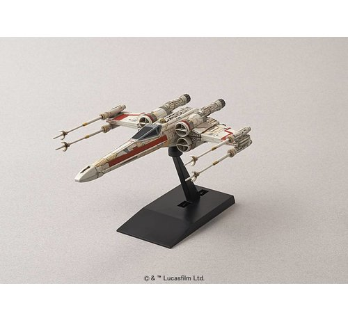 "BANDAI MODEL KITS 204885 X-Wing StarFighter ""Star Wars"", Bandai Star Wars 1/144"
