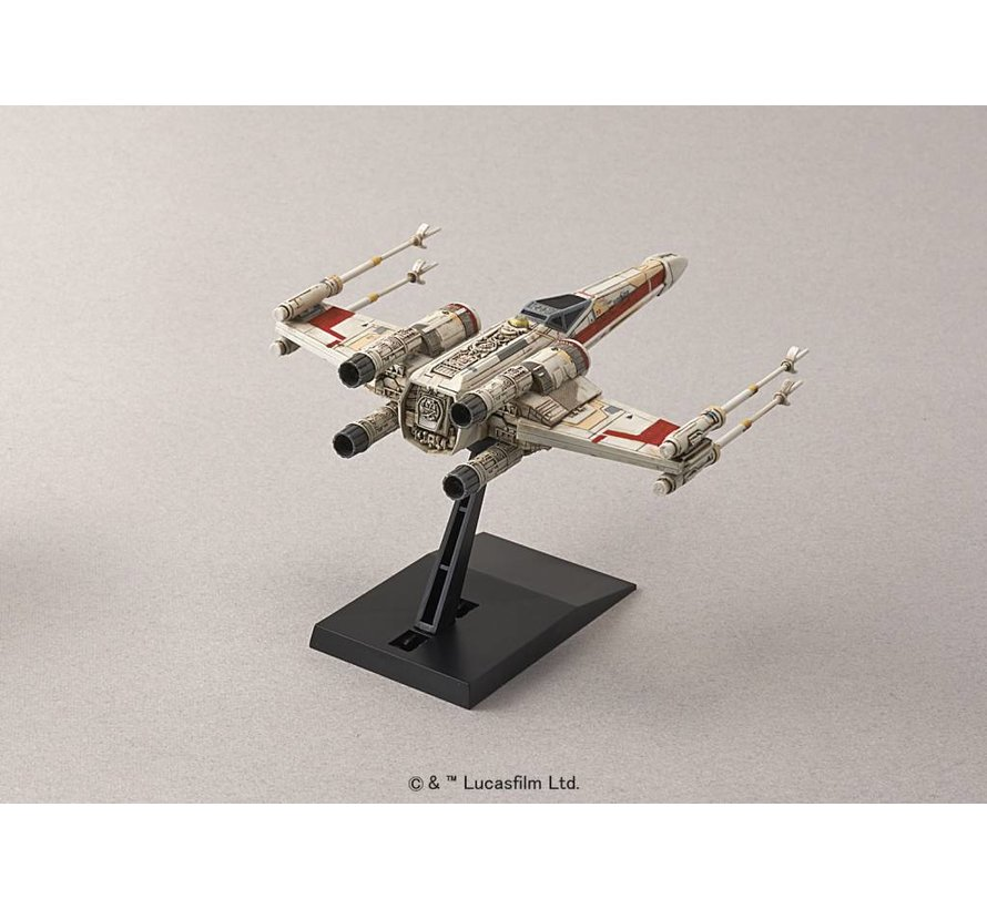 "204885 X-Wing StarFighter ""Star Wars"", Bandai Star Wars 1/144"