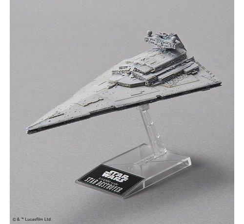 "BANDAI MODEL KITS 204884 Star Destroyer ""Star Wars"", Bandai Star Wars 1/14500"