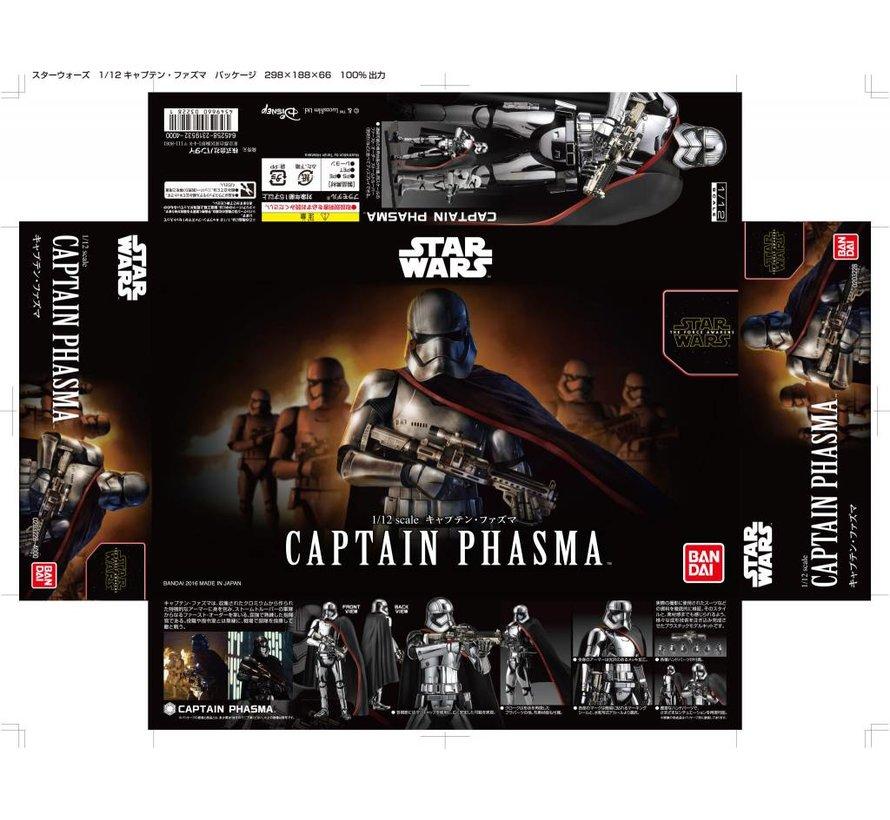 """219776 Captain Phasma """"Star Wars"""", Bandai Star Wars Character Line 1/12"""