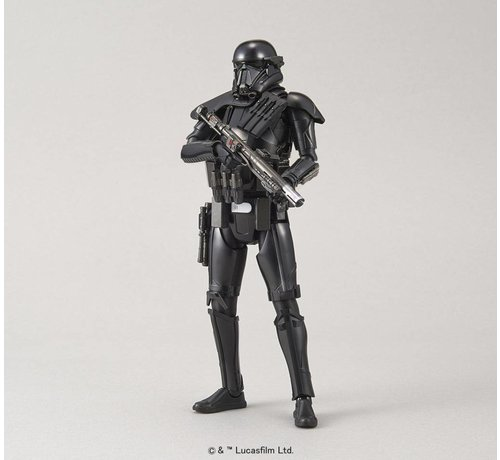 "BANDAI MODEL KITS 209052 Death Trooper ""Star Wars"", Bandai Star Wars Character Line 1/12"