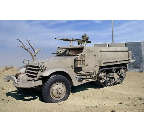 Dragon Models (DML) 3598  IDF M3 Halftrack w/20mm Hispano-Suiza HS.404 cannon 1/35
