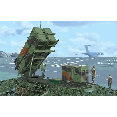 DML - Dragon Models 3604 MIM104C Patriot (PAC2) Surface-to-Air Missile (SAM) System M901 Launching Station 1/35