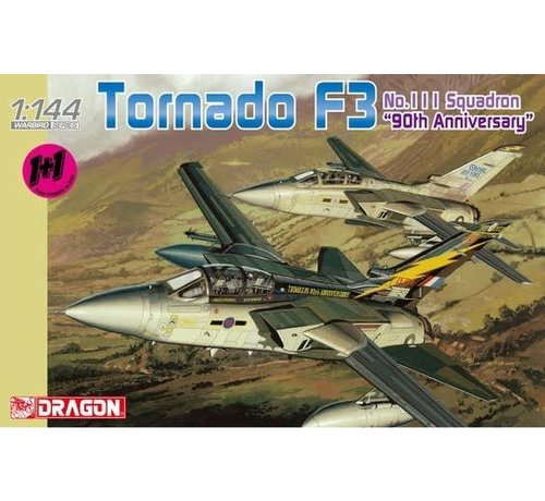 DML - Dragon Models 4614 Tornado F3 111 Sq. 90th Anniv Aircraft (2 Kits) 1/144