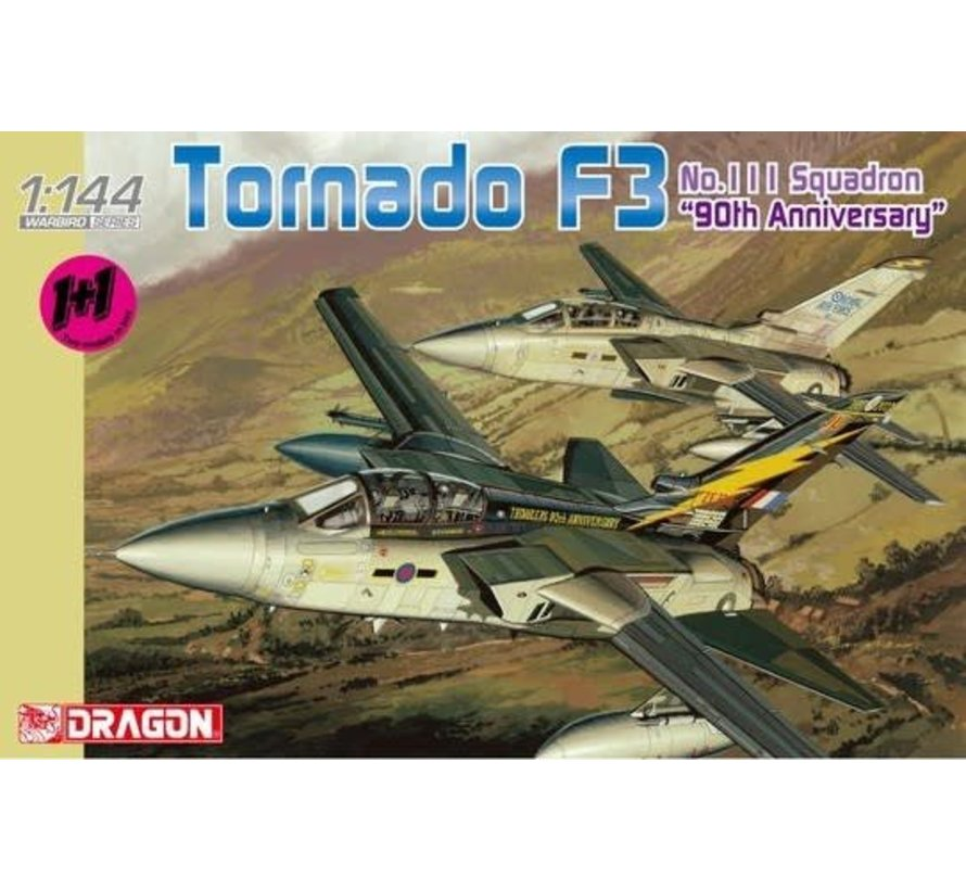 4614 Tornado F3 111 Sq. 90th Anniv Aircraft (2 Kits) 1/144