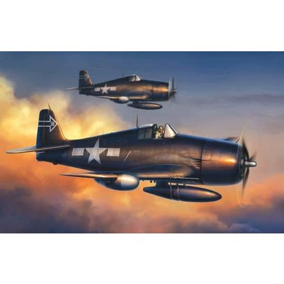 DML - Dragon Models 5080 F6F-5N Hellcat, Night Version - Wing Tech Series 1/72