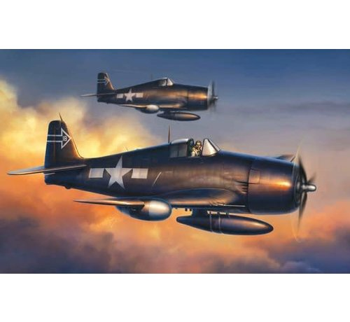 DML - Dragon Models 5080 F6F-5N Hellcat, Night Version - Wing Tech Series 1/72