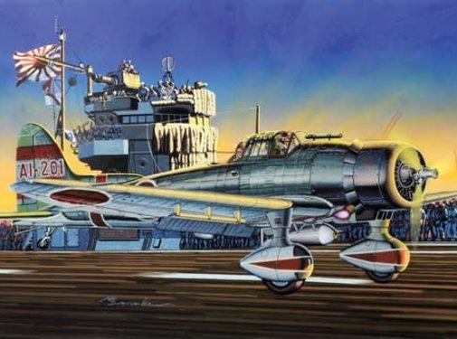 "Dragon Models (DML) Aichi Type 99 ""Val"" Dive-Bomber 1/72"