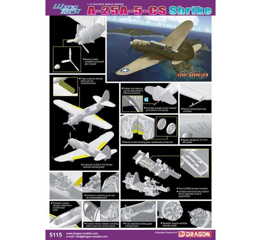 5115 A-25A-5-CS Shrike - Wing Tech Series 1/72