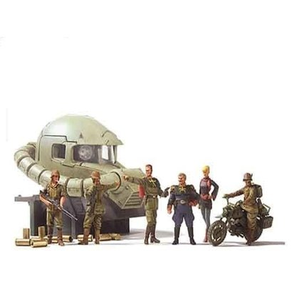 BANDAI MODEL KITS 146729 Ucgh Efgf Ramba Ral Commando Set, Bandai UCHG