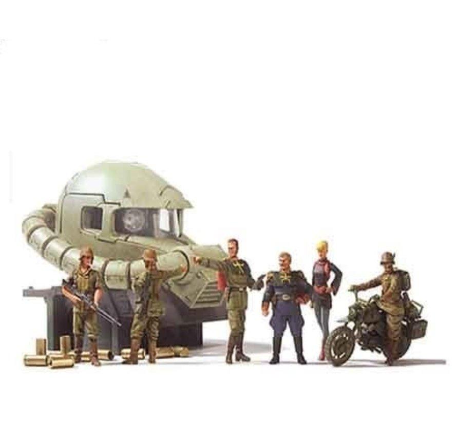 146729 Ucgh Efgf Ramba Ral Commando Set, Bandai UCHG
