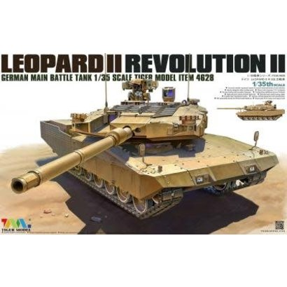 TMK - TIGER MODEL LTD 4628 LEOPARD II REVOLUTION II MBT 1/35