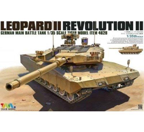 TMK - TIGER MODEL LTD 4628 LEOPARD II REVOLUTION II MBT 1/35