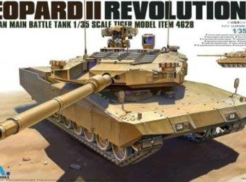 TMK - TIGER MODEL LTD LEOPARD II REVOLUTION II MBT 1/35
