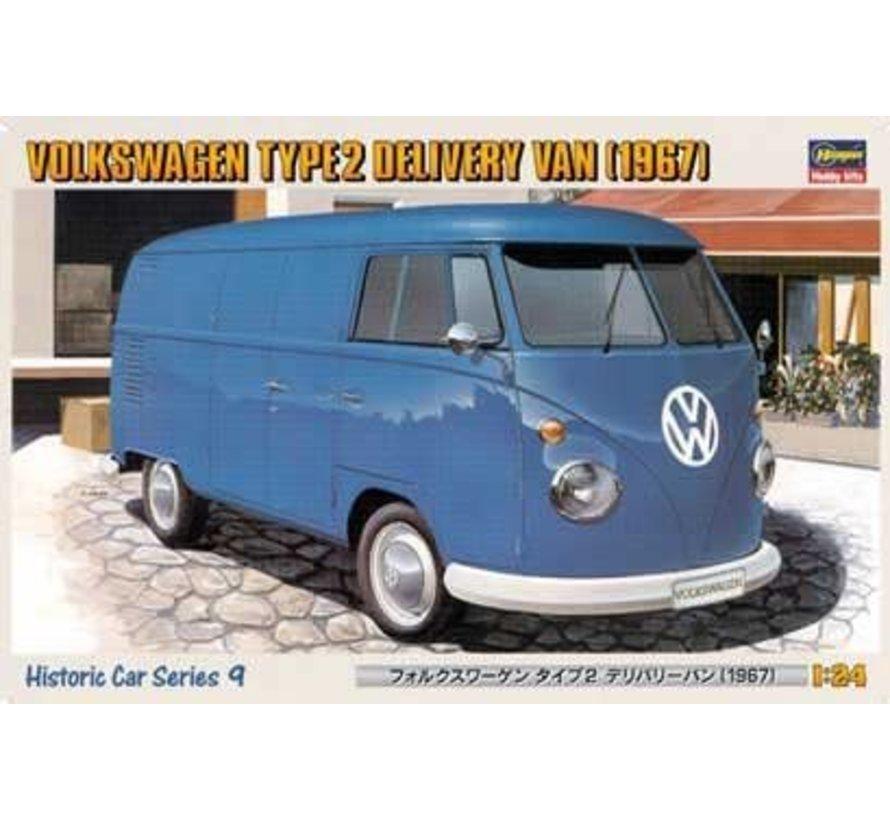 21209 (1967) Volkswagen Type 2 Delivery Van 1/24