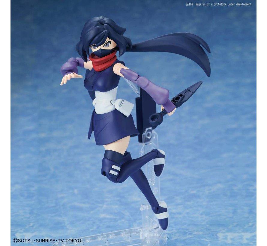 """5056761 #28 Diver Ayame """"Gundam Build Divers"""", Bandai Figure-rise Standard"""