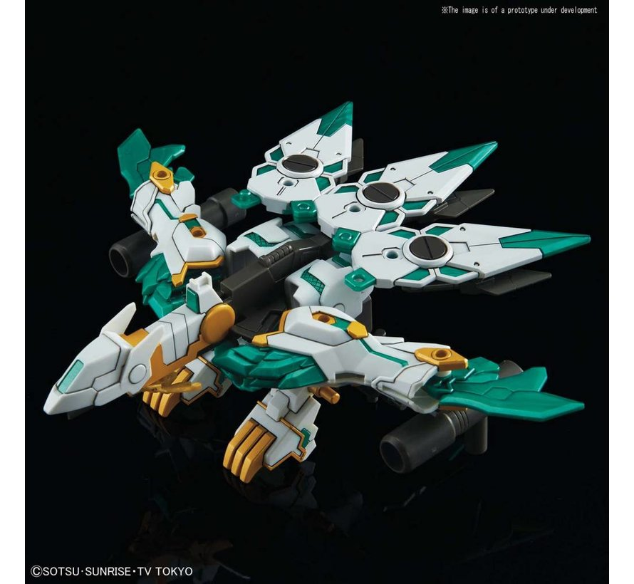 "5055707 #26 RX-Zeromaru Sinkikessho ""Gundam Build Divers"", Bandai SDBD"
