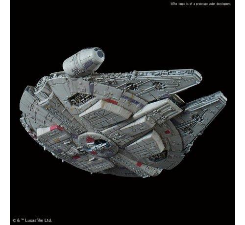 "Bandai 5055704 015 Millennium Falcon Empire Strikes Back Ver. ""Star Wars"", Bandai Star Wars 1/350"