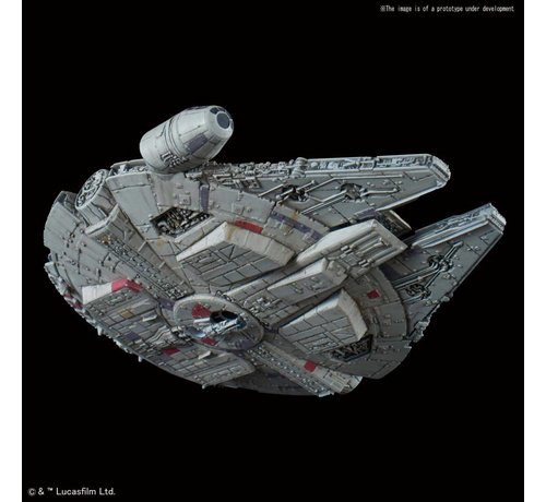 "BANDAI MODEL KITS 5055704 015 Millennium Falcon Empire Strikes Back Ver. ""Star Wars"", Bandai Star Wars 1/350"