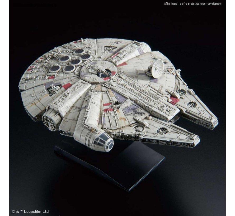 "5055704 015 Millennium Falcon Empire Strikes Back Ver. ""Star Wars"", Bandai Star Wars 1/350"