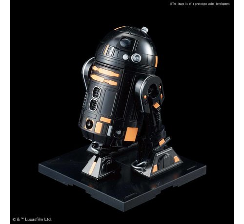 "BANDAI MODEL KITS 5055705 R2-Q5 ""Star Wars"", Bandai Star Wars Character Line 1/12"