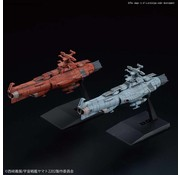 BANDAI MODEL KITS UNCF D Class and Mars-Earth Defense Line