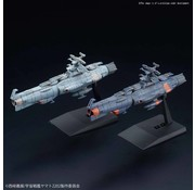 BANDAI MODEL KITS Yamanami Fleet and Mars Defense Line