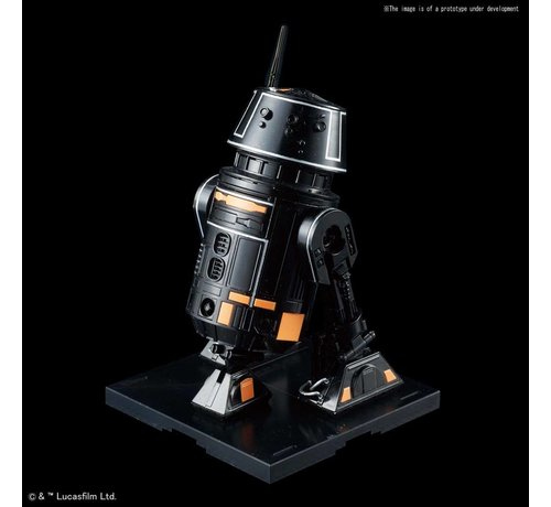 "BANDAI MODEL KITS 5056764 R5-J2 ""Star Wars"", Bandai Star Wars Character Line 1/12"