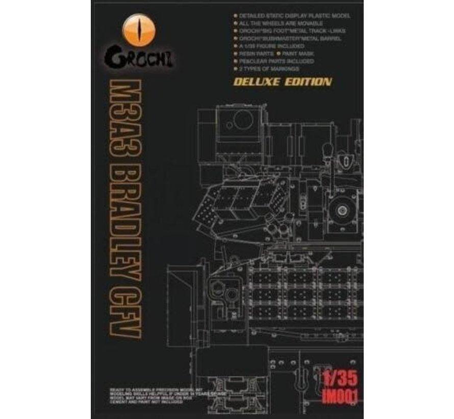 "35 0001 U.S. Army M3A3 Bradley CFV ""DELUXE KIT 1/35"