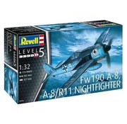 RVL- Revell Germany 1/32 Focke Wulf Fw 190 A-8 Nightfighter