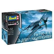 RVL- Revell Germany 1/32 Focke Wulf Fw 190 A-8 Nightfighter