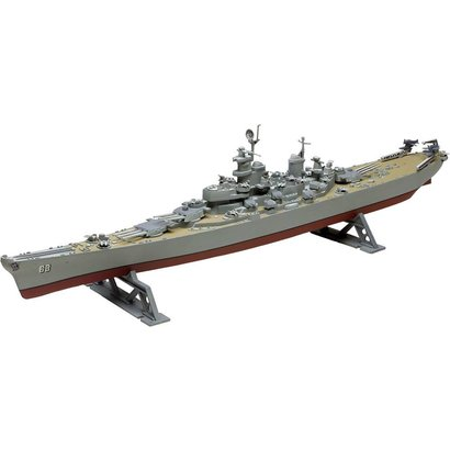 RMX- Revell 850301 USS Missouri Battleship Plastic Model Kit 1/535