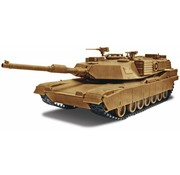 RMX- Revell Abrams M1A1 Tank 1/35 snap