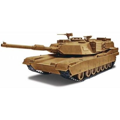 RMX- Revell 851230 SnapTite Max Abrams M1A1 Tank Plastic Model Kit 1/35
