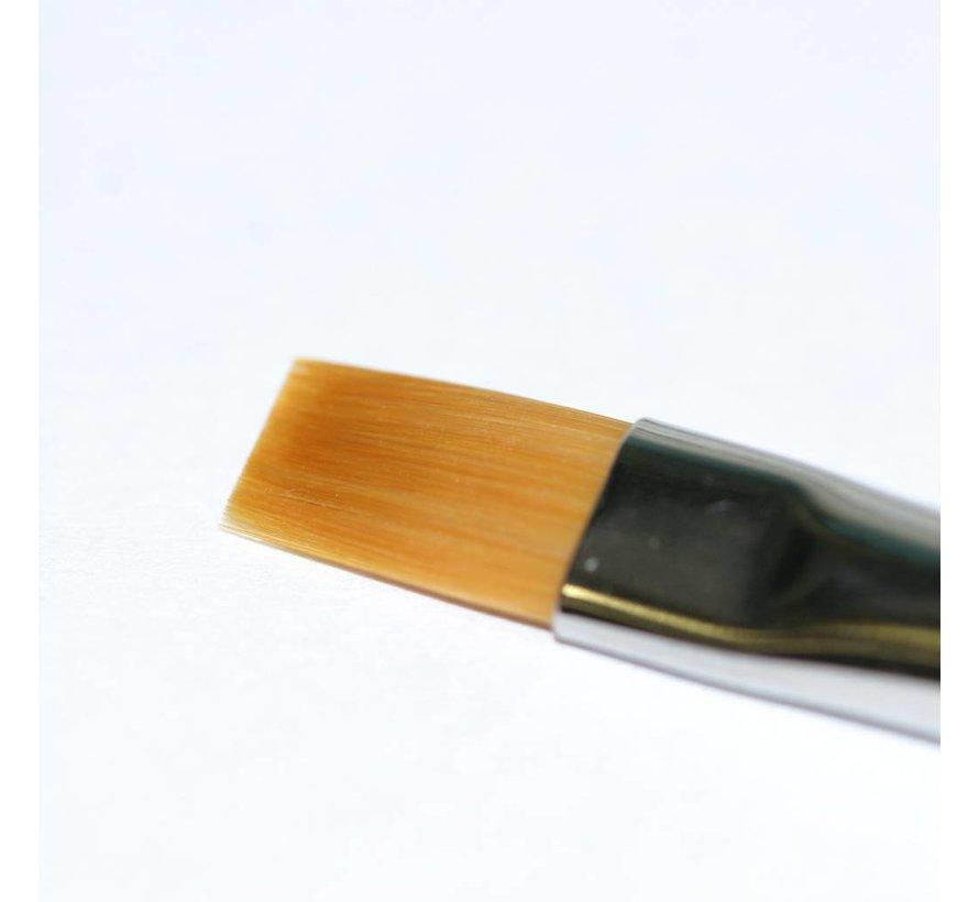 87047 High Finish Flat Model Paint Brush No  2