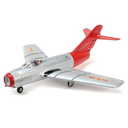 EFL - E-flite U6050 UMX MiG-15 EDF BNF Basic with AS3X & SAFE Select RC AirPlane