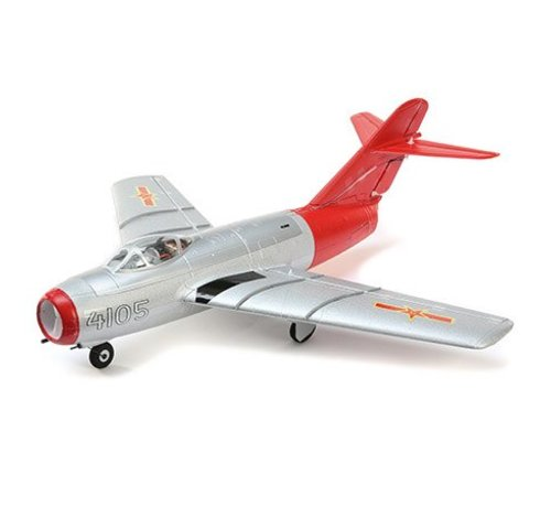E-flite (EFL) U6050 UMX MiG-15 EDF BNF Basic with AS3X & SAFE Select RC AirPlane
