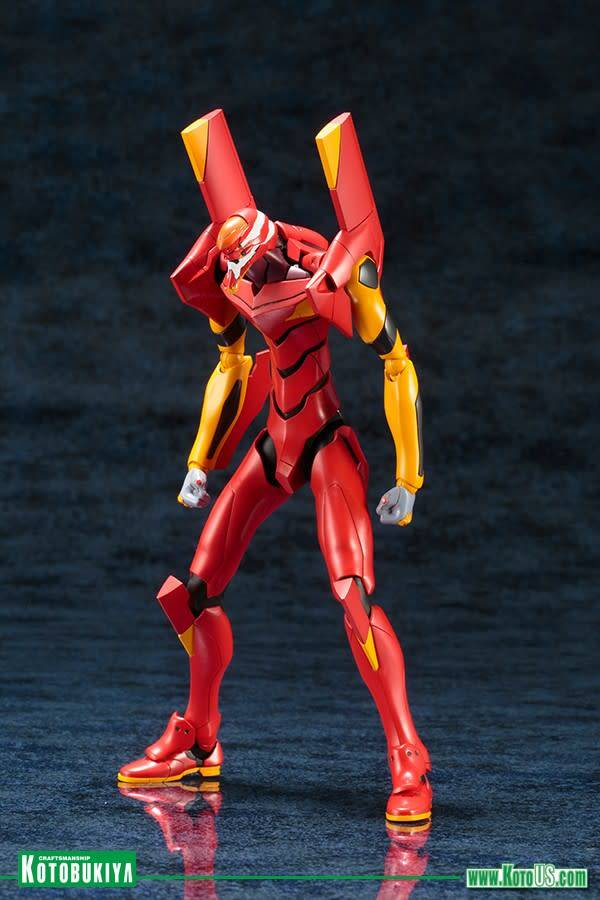 437 NEON GENESIS EVANGELION EVANGELION UNIT‐02 TV VER PLASTIC MODEL KIT